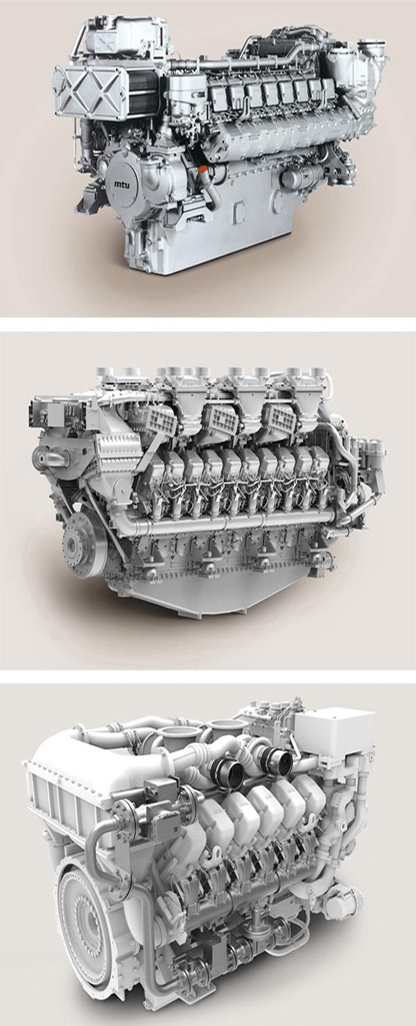 Полный ассортимент двигателей и запчастей MTU доступен в семействе двигателей.