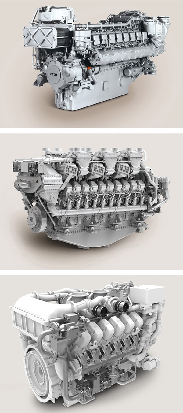 The full range of MTU engines and parts is available from Engine Family.