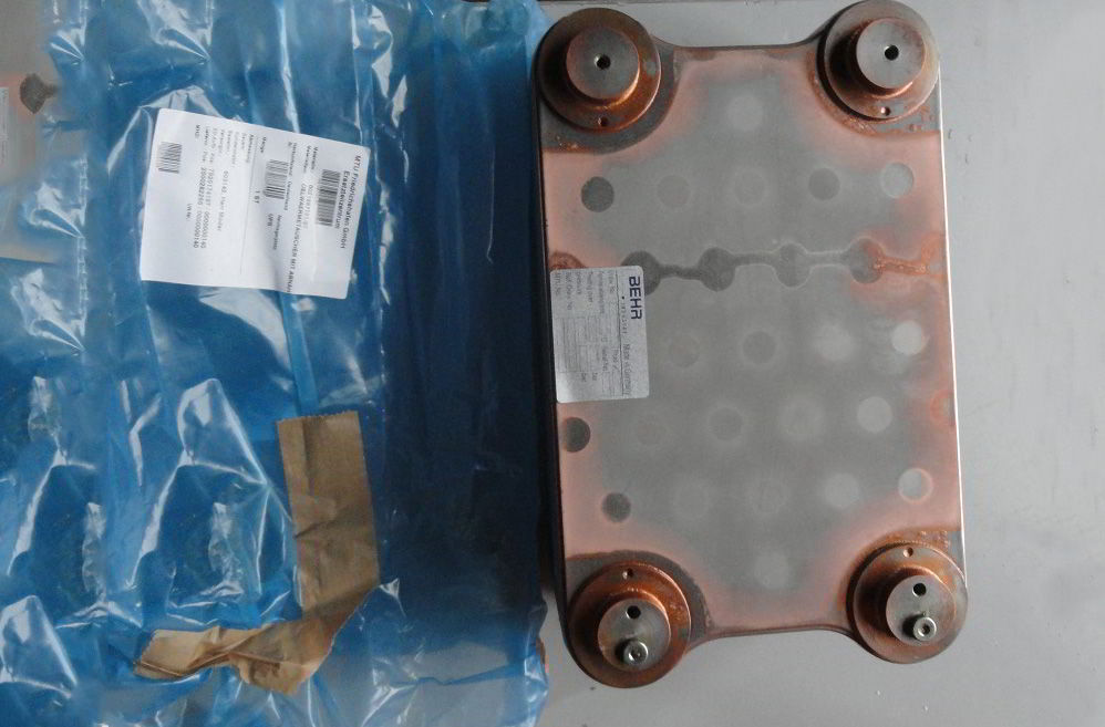 0021887101/87 OIL HEAT EXCHANGER WACCEPT CERTI
