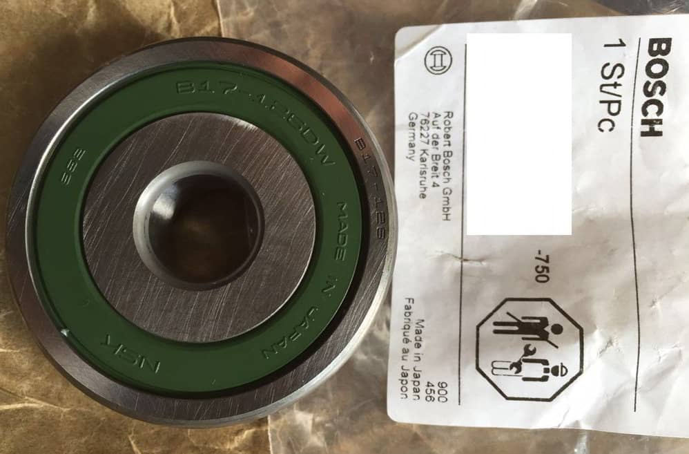 0059812225 GROOVED BALL BEARING