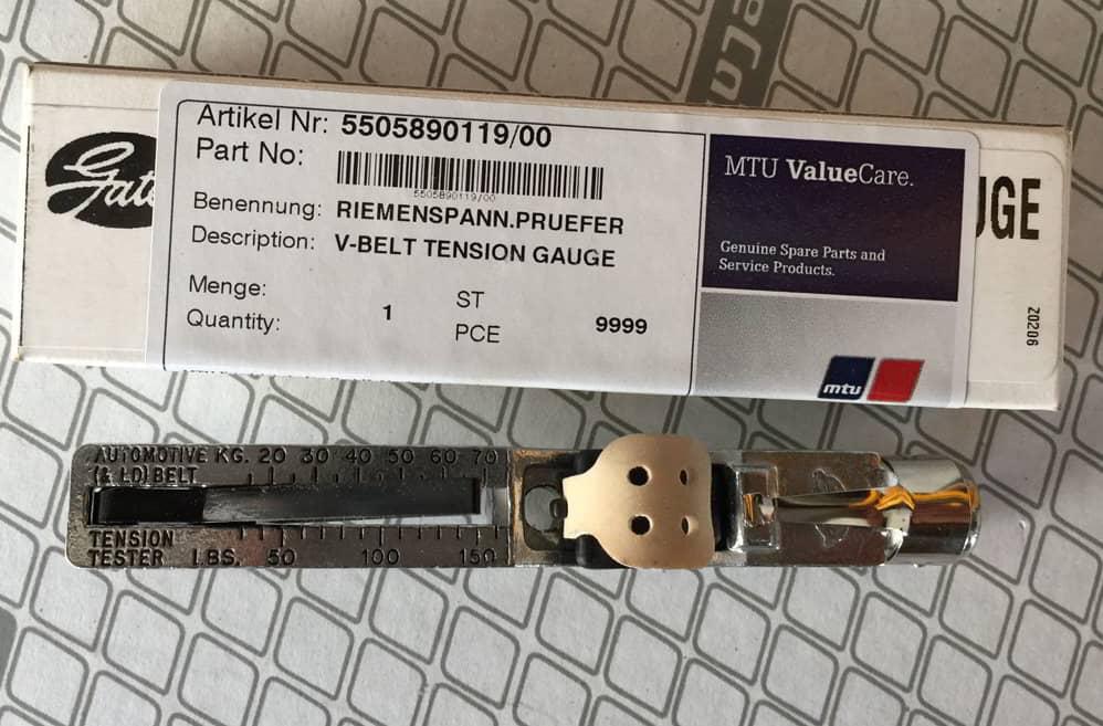 5505890119/00 V-BELT TENSION GAUGE