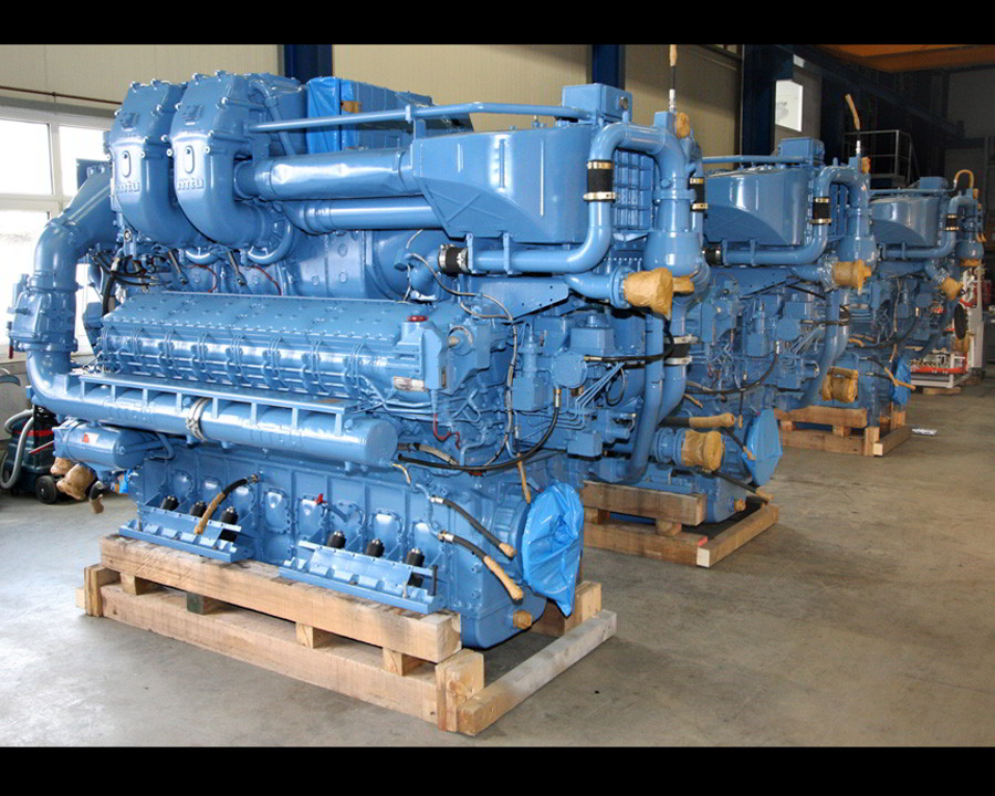 MTU 16V 538 TB93 Engines