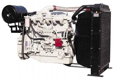 DOOSAN P126TI-2 Generator engine