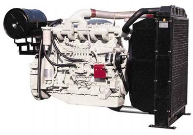 DOOSAN P126TI Generator engine