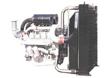 DOOSAN P158LE-1 Generator engine