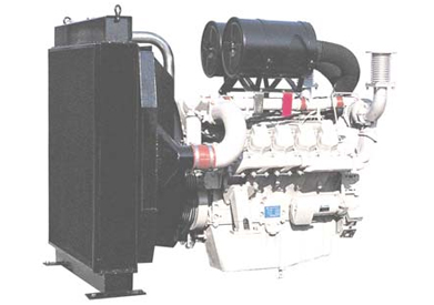 DOOSAN P180LE Generator engine