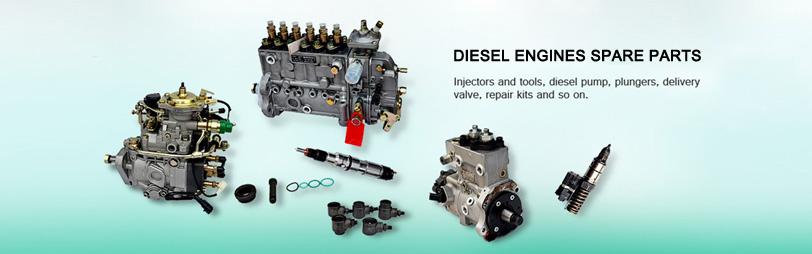 Diesel Engines Spare parts | Injection, fuel spout, pump. Engine family ltd.