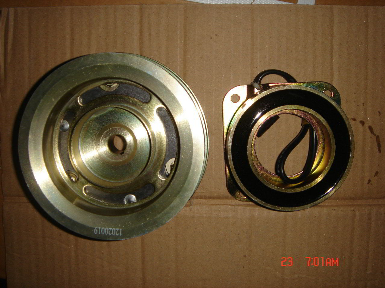 IVECO PARTS | 97301725 | ELECTROMAGNETIC PULLEY
