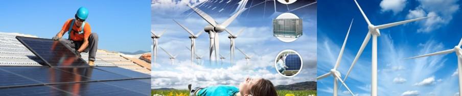 Composants d'éoliennes de 750W